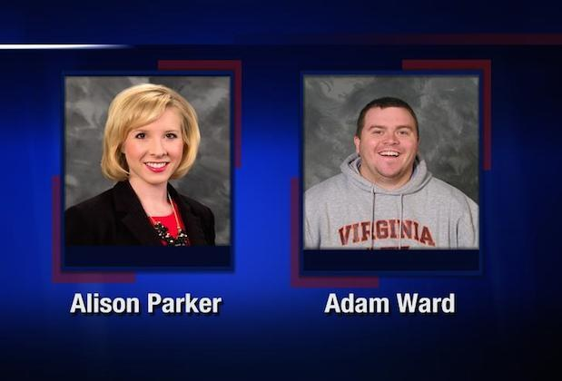 Alison Parker i Adam Ward /CBS /