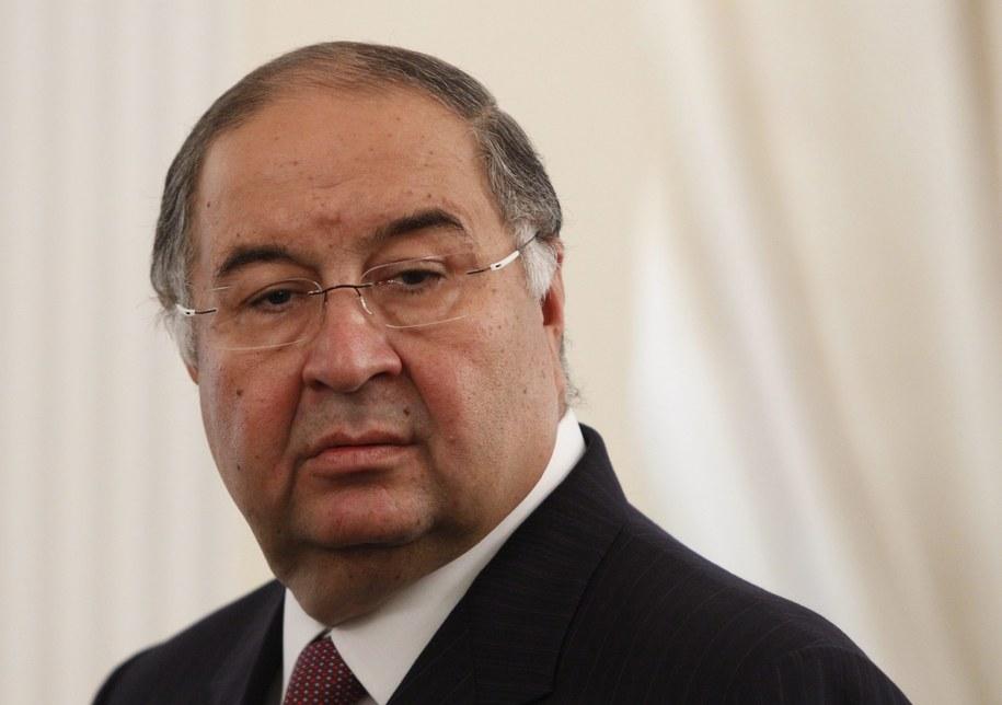 Aliszer Usmanow /MAXIM SHEMETOV / POOL /PAP/EPA