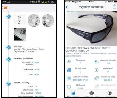 Allegro Sprzedaż - aplikacja dla systemów iOS i Android