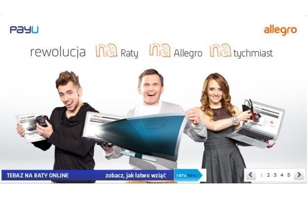 Allegro wprowadza możliwość zakupów na raty /materiały prasowe