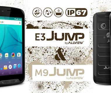 Allview wprowadza pierwsze wytrzymałe telefony z serii Jump
