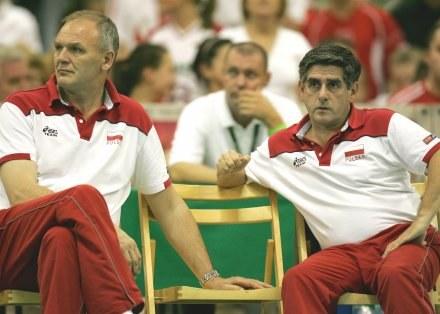 Alojzy Świderek obok Raula Lozano  Fot. Łukasz Grochala /Agencja Przegląd Sportowy