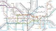 Alternatywna mapa londyńskiego metra