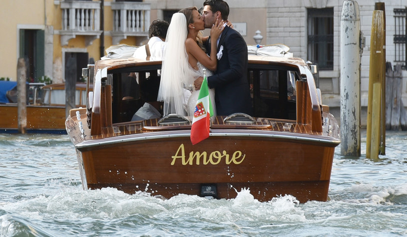 Alvaro Morata wziął ślub! /M. Angeles Salvador/MEGA /Agencja FORUM