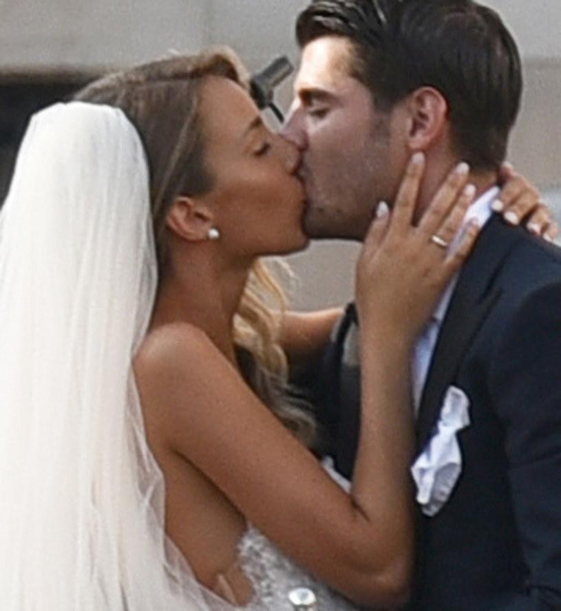 Alvaro Morata wziął ślub! /M.Angeles Salvador/Splash News /Agencja FORUM