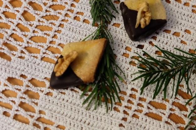 Alzackie romby z orzechami czyli kolejna odsłona adwentowych ciasteczek