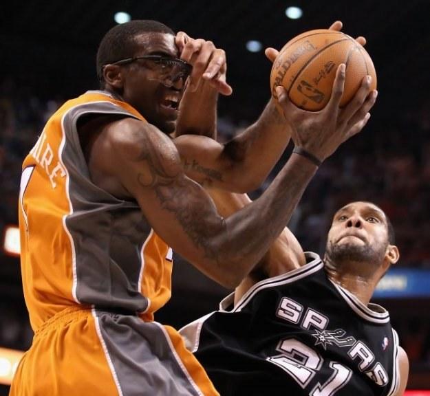 Amare Stoudemire, koszykarz Phoenix Suns /AFP