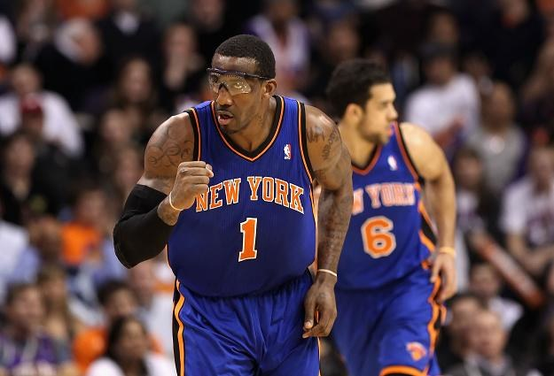 Amare Stoudemire z New York Knicks/fot. Christian Petersen /Getty Images/Flash Press Media