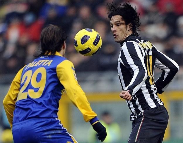 Amauri (z prawej) może trafić do PSG lub Wolfsburga /AFP