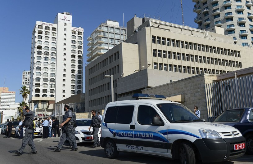 Ambasada USA w Tel Awiwie /AFP