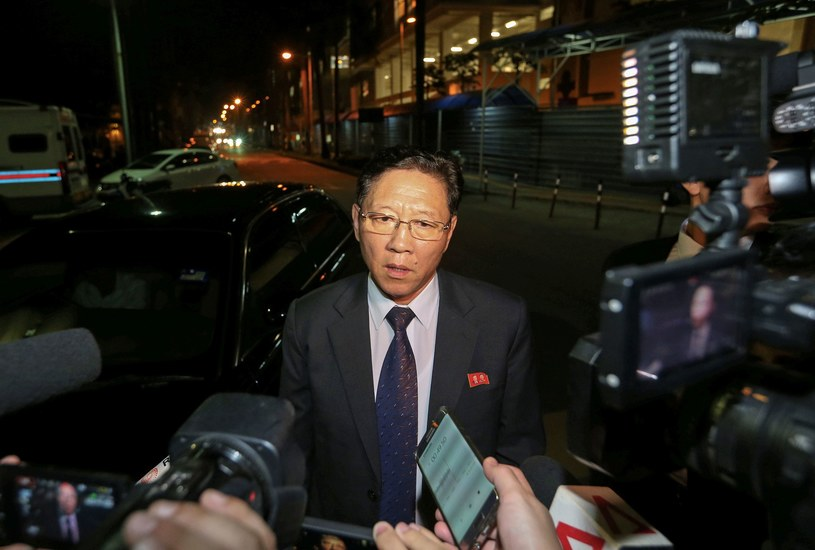 Ambasador Korei Północnej w Kuala Lumpur Kang Chol /AFP