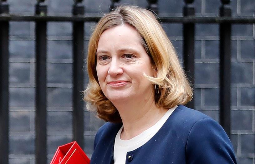 Amber Rudd /Tolga Akmen /AFP
