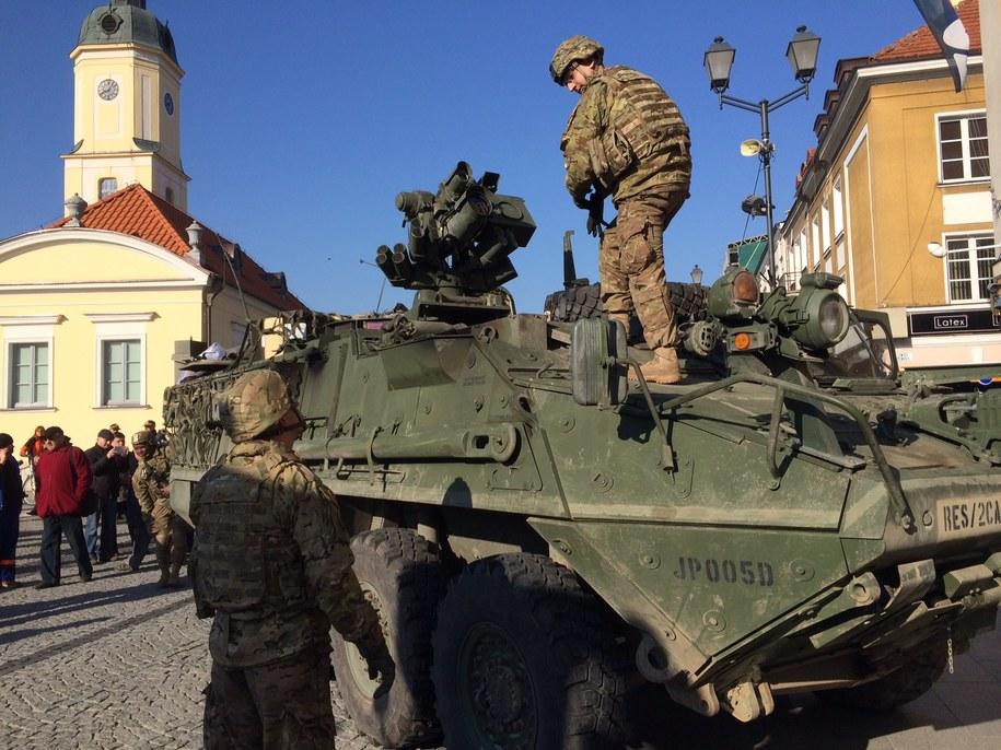 Amerykanie w Białymstoku /Piotr Bułakowski /RMF FM