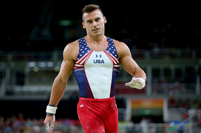 Amerykanin Samuel Mikulak /Getty Images