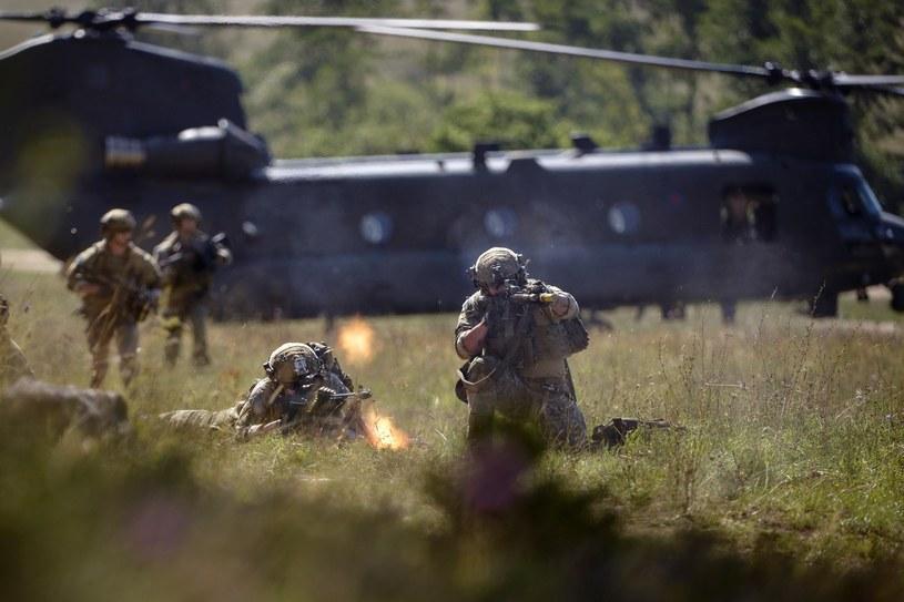 Amerykańscy żołnierze podczas ćwiczeń wojskowych w Niemczech /AFP