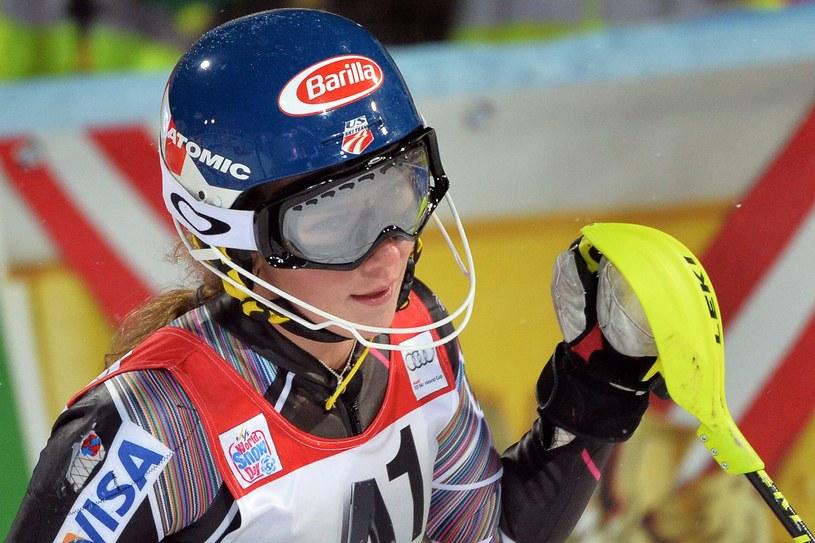 Amerykańska narciarka Mikaela Shiffrin /PAP/EPA