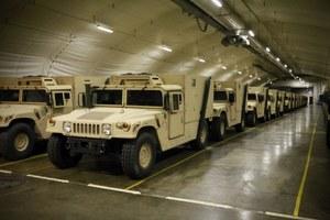 Amerykański arsenał w norweskich jaskiniach