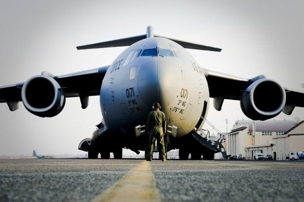 Amerykański Boeing C-17 /materiały prasowe