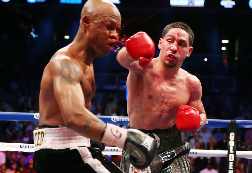 Amerykański bokser Danny Garcia /AFP