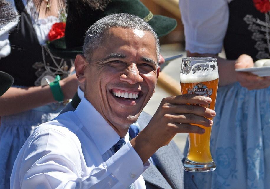 Amerykański prezydent w Bawarii /DANIEL KARMANN /POOL /PAP/EPA