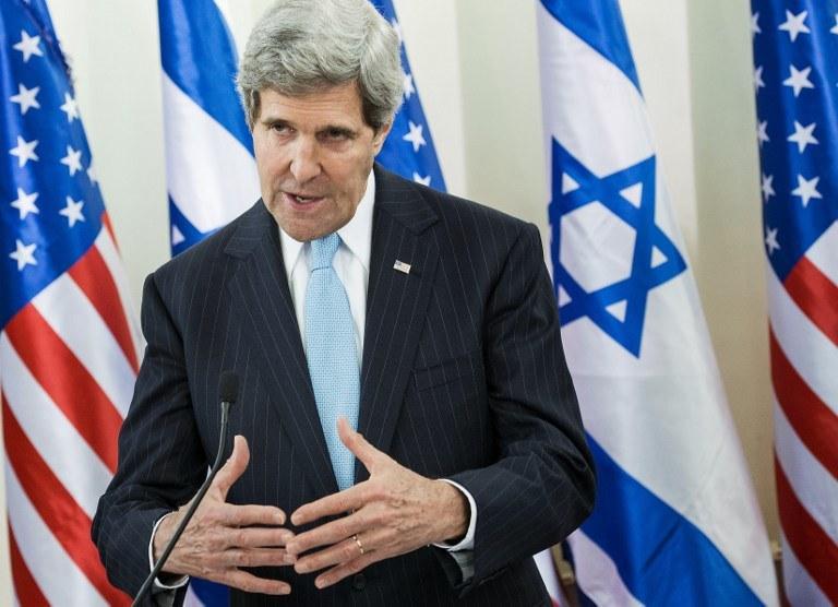 Amerykański sekretarz stanu John Kerry /AFP