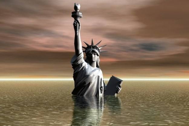 Amerykańskie miasta zagrożone powodzią! Do 2100 r. wiele znich może znaleźć się pod wodą /©123RF/PICSEL