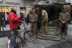Amerykańskie pojazdy wojskowe w Łodzi
