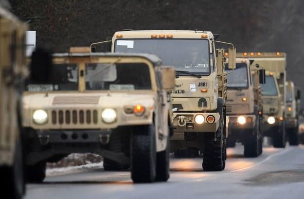 Amerykańskie wojsko ma w Polsce pod górkę /AFP