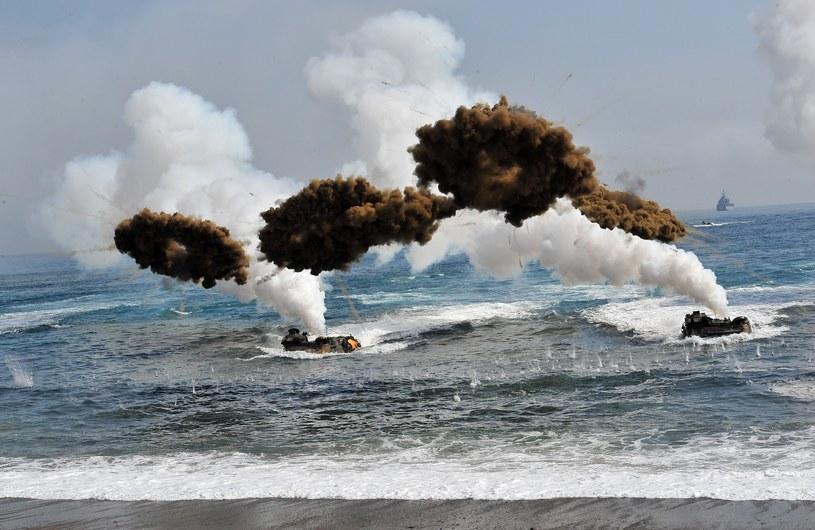 Amerykańsko-południowokoreańskie ćwiczenia wojskowe /AFP