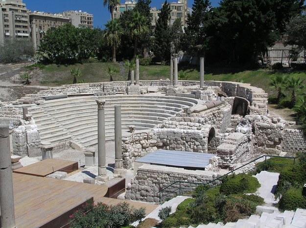 Amfiteatr w Aleksandrii /123/RF PICSEL