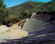 Amfiteatr w Epidauros, Grecja /Encyklopedia Internautica