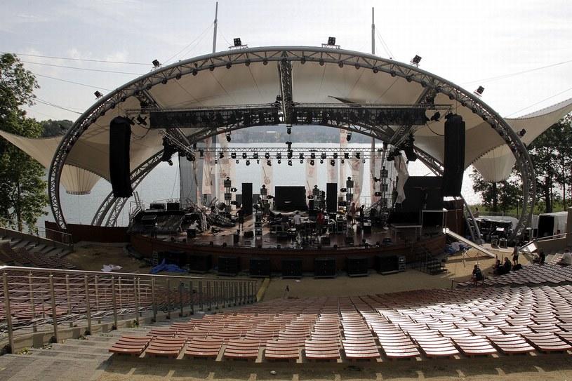 Amfiteatr w Mrągowie /Leszek Rusek /East News