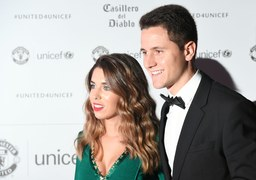 Ander Herrera i Isabel Collado