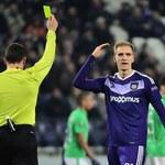 Anderlecht - Gent 1-0. Teodorczyk zmieniony i bez gola