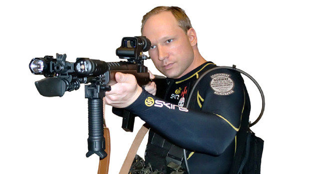 Anders Breivik /  /materiały prasowe