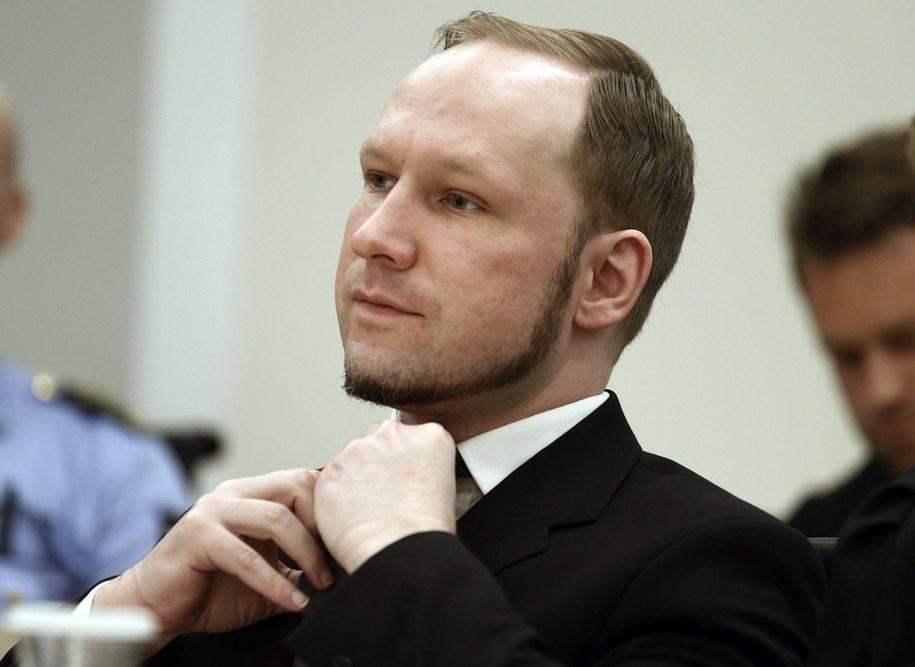 Anders Breivik /HEIKO JUNGE / POOL    /PAP/EPA