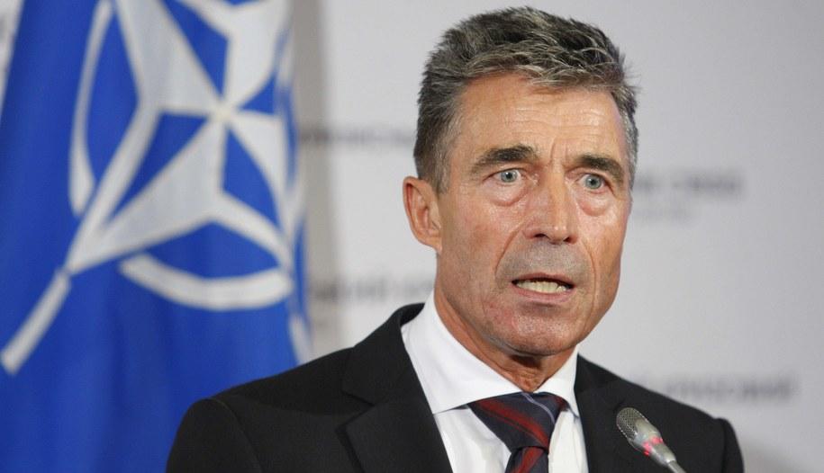 Anders Fogh Rasmussen /PAP/ITAR-TASS. /PAP