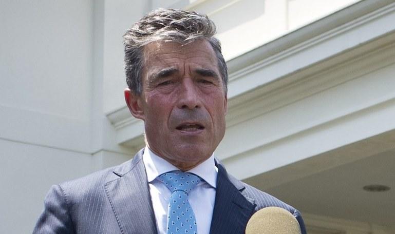 Anders Fogh Rasmussen /AFP