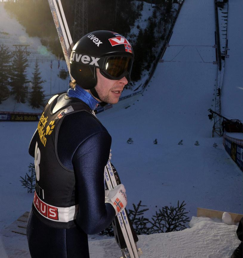 Anders Jacobsen na skoczni w Lahti /AFP