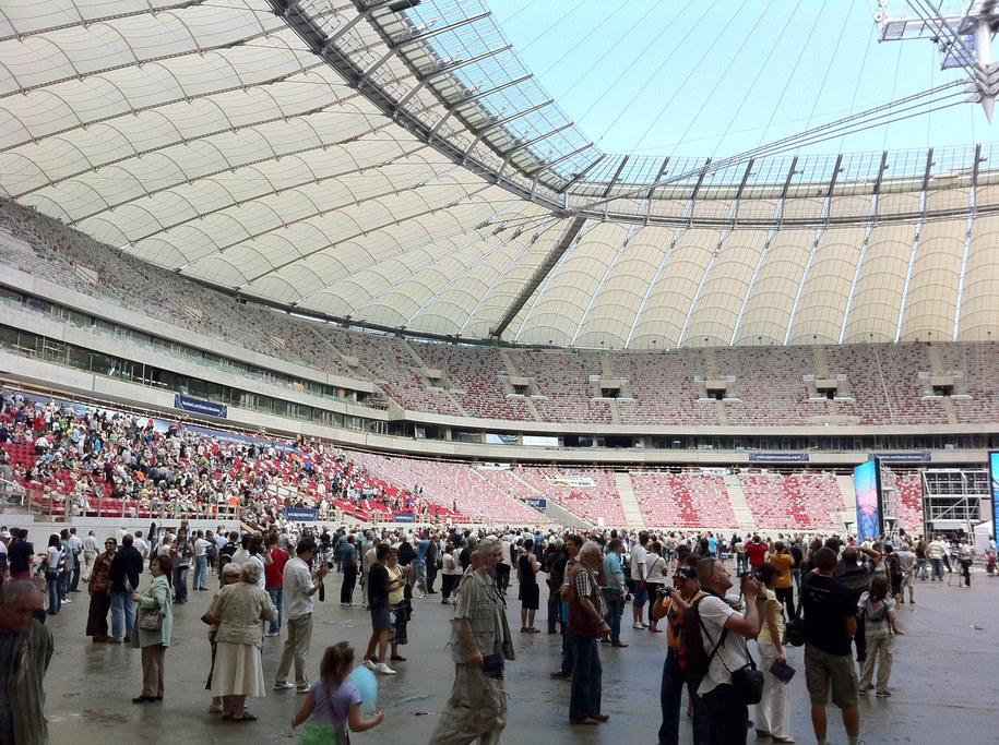 75 tysięcy osób odwiedziło Stadion Narodowy /Paweł Świąder /RMF FM