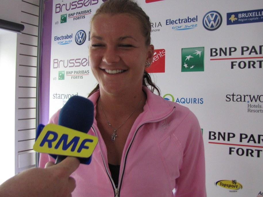 Agnieszka Radwańska /Katarzyna Szymańska-Borginon /RMF FM