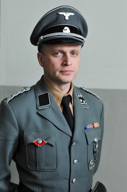 Aktor Telekamerę dostał za rolę szefa warszawskiego gestapo, Larsa Reinera /Agencja W. Impact
