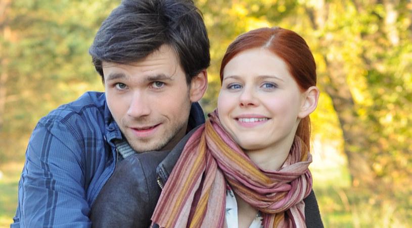 Alek (Krzysztof Wach) i Iwona (Iza Zwierzyńska) /Agencja W. Impact