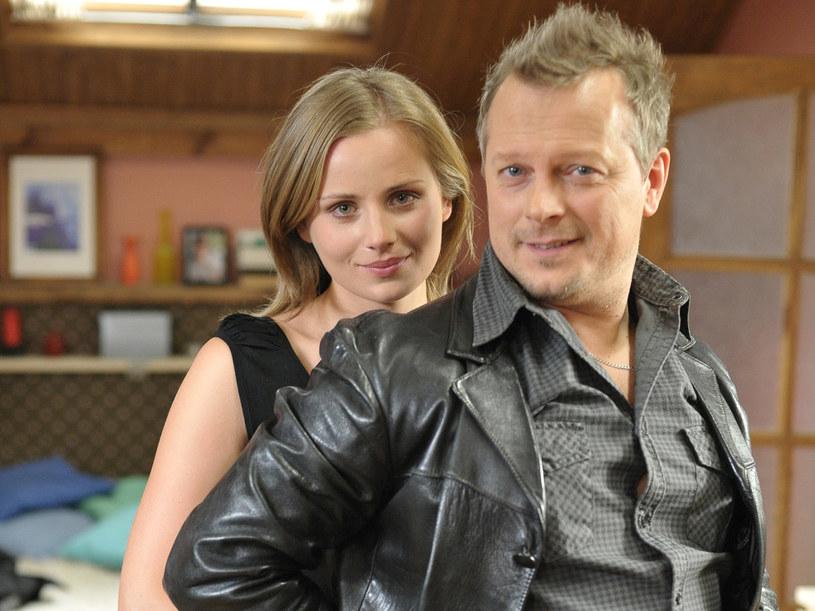 Berta Stockman (Paulina Chruściel) była nawet w ciązy z Tomkiem. /Agencja W. Impact
