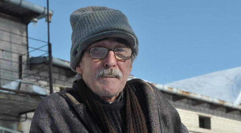Bezdomny Marianek (Jerzy Cnota) /Agencja W. Impact