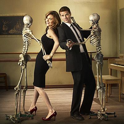 """Bones i Booth z """"Kości"""" /Polsat"""