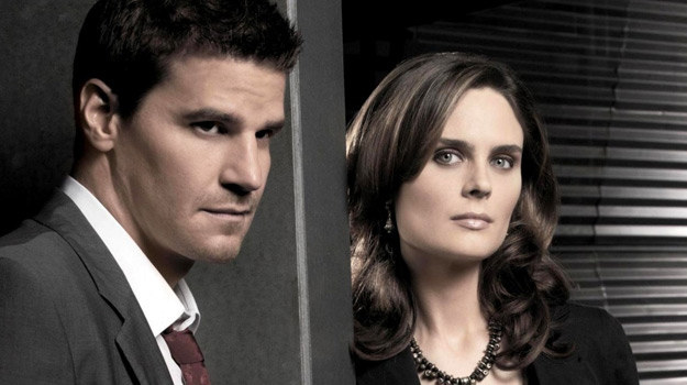 Booth (David Boreanaz) i Brennan (Emily Deschanel) /materiały prasowe