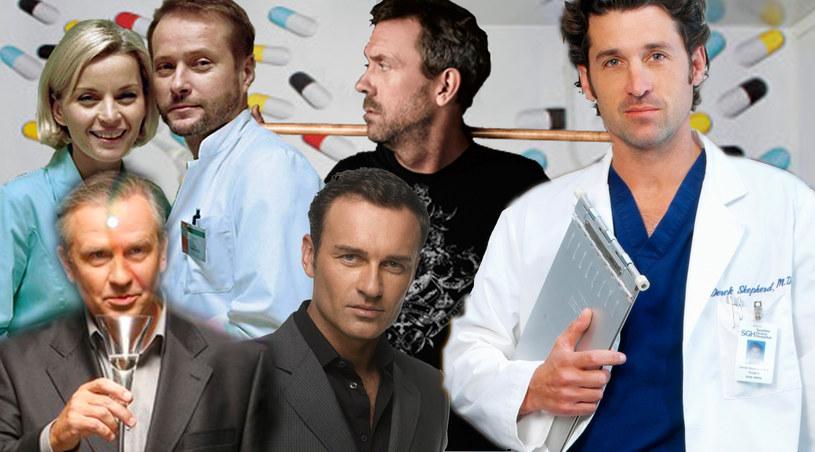Burski, House, Shepard, Troy czy może Lubicz? Kto jest twoim ulubionym lekarzem? /swiatseriali.pl