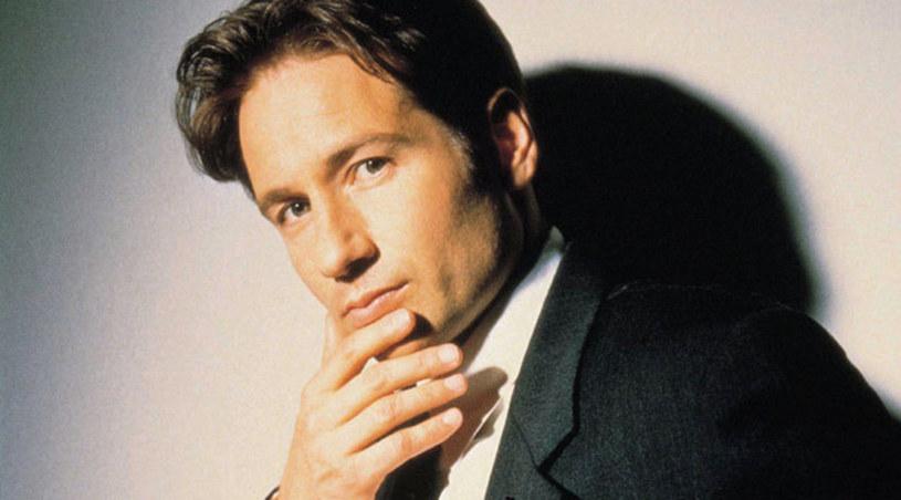 David Duchovny w swojej słynnej roli Foxa Muldera /Polsat