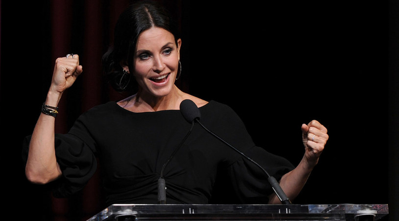-Dla kobiety życie po 40. to naprawdę wyjątkowy moment w życiu - zwierza się Courtney Cox-Arquette /Kevin Winter /Getty Images/Flash Press Media